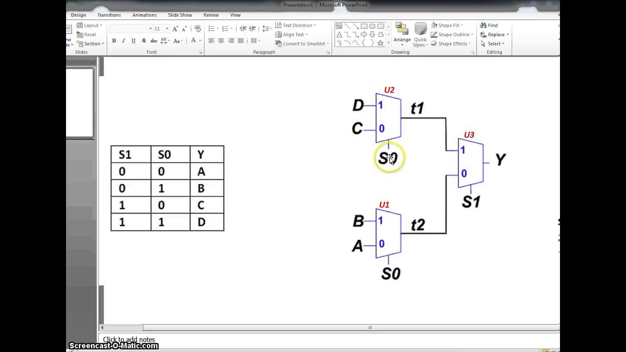 Vhdl- Part 2  Structural Vhdl - Design Of 4 To 1 Mux