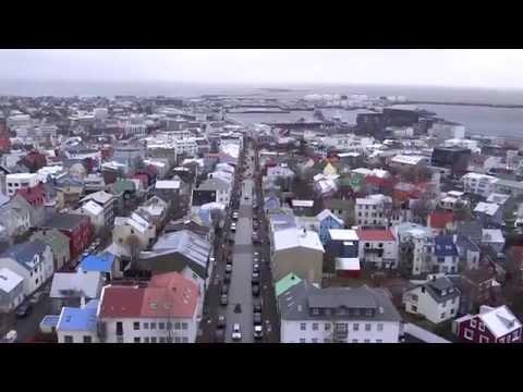 Reykjavík, Iceland - View from the Hallgrímskirkja HD (2014)