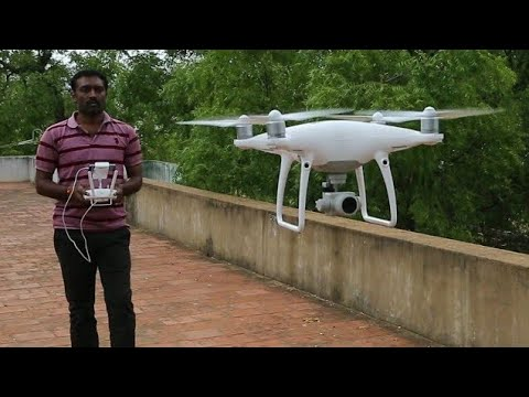 Phantom 4 Pro Drone Camera(Helicam)Unboxing,Setup,First fly in india #हेलीकाप्टर कैमरा