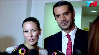 Luli Fernández y Cristian Cúneo Libarona dieron el sí