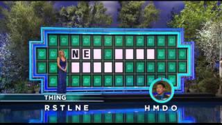 Wheel of Fortune 3/19/14: No Help, No Problem