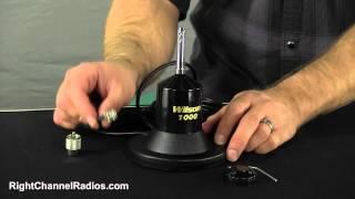 Wilson 1000 Magnet CB Antenna Details