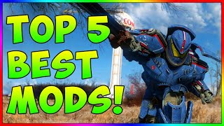 Fallout 4 - TOP 5 BEST Mods! Ep. 15 (PS4, XBOX ONE, PC)
