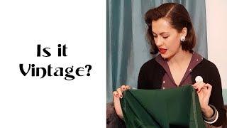 How to Shop for Vintage Clothing (Part I)⎟VINTAGE TIPS & TRICKS