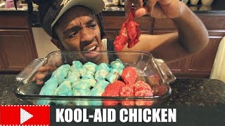 KOOL-AID CHICKEN TASTE TEST!!
