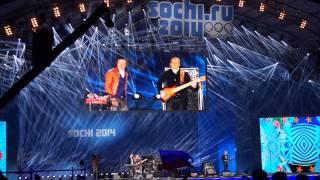 Brainstorm - На заре LIVE (Medals Plaza, Sochi)