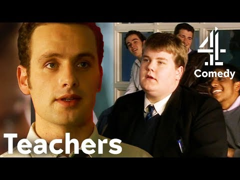 Comedy with Andrew Lincoln & James Corden | Trying to Explain Shakespeare to Kids… | Teachers