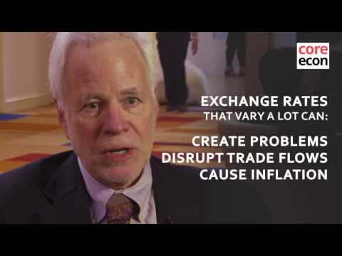 Barry Eichengreen: Pegged exchange rates