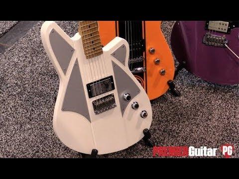 NAMM '18 - Reverend Guitars BC-1 Billy Corgan Signature & Airsonic Demos