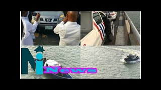 Police begin search for suspect who jumped into Lagos lagoon