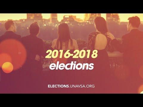 2016 UNAVSA Executive Board Elections Video