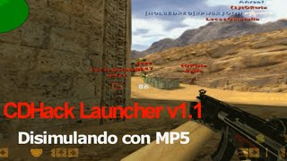 Counter-Strike 1.6 CDHack Disimulando con MP5