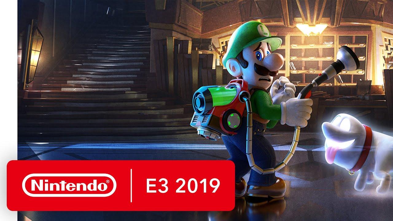 Luigi S Mansion 3 Luigi S Nightmare Trailer Nintendo Switch