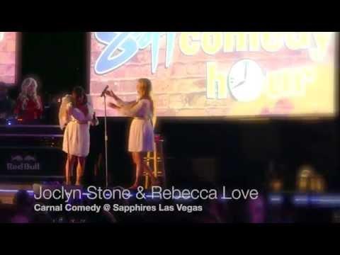Joclyn Stone and Rebecca Love - Angel Skit