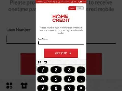 Home Credit App Installation Tutorial In Customer Mobile
