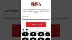 Home Credit App Installation Tutorial In Customer Mobile