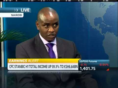 Kenya's CFC Stanbic Bank H1 results with Edwin Mucai