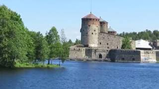 Olavilinna in summer 2015 ドラクエの城のモデル、フィンランドのオラヴィリンナ城