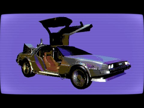 DeLorean of Love: Real Commodore 64s + retro speech synthesizer