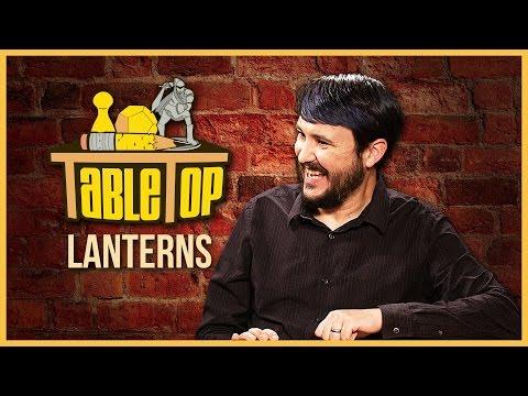 Wil Wheaton plays Lanterns on TABLETOP!