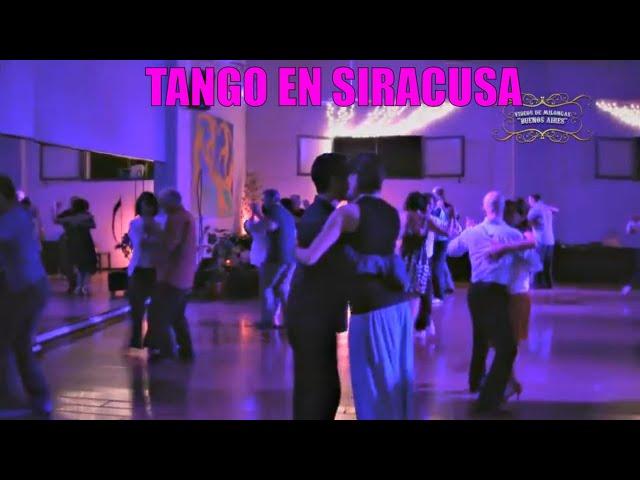 Tango en Siracusa,  Sicilia Italia,  Milonga Paladance