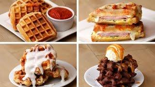 Waffles 4 Ways(, 2016-06-18T17:00:00.000Z)