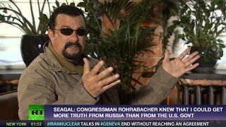 Repeat youtube video Steven Seagal: Obama regime very good at controlling media, propaganda