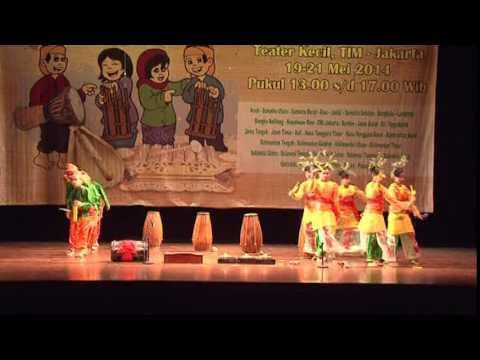 SULAWESI TENGAH - Festival Nasional Musik Tradisi Anak-Anak 2014 by MAM EO