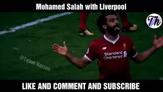 Mohamed Salah - Rockstar - Crazy Speed, Skills & Goals 2017-18 [HD].. ⚫اهداف ومهارات محمد صلاح⚫