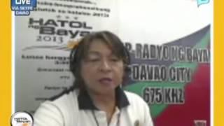 Hatol ng Bayan 2013: Iba pang resulta sa Davao Region, patuloy na inaantabayanan ng lahat