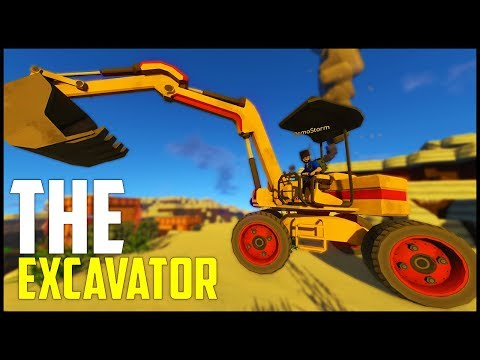 ECO Survival - Part 10: The Excavator!