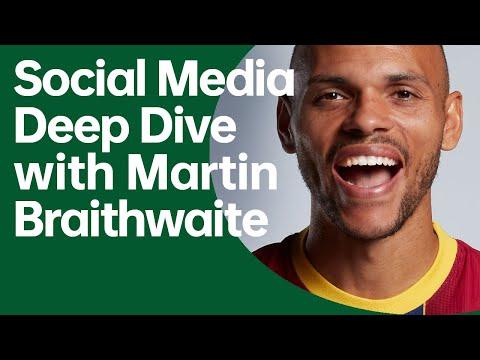Social Media Deep Dive With Martin Braithwaite   OPPO X FC Barcelona