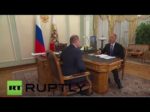 Russia: Putin meets Russian Direct Investment Fund CEO Kirill Dmitriev