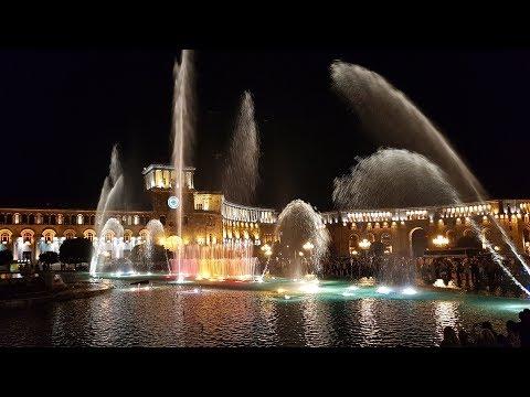 Jerewan (2): Felsenkloster Geghard, Garni-Tempel, Wasserspiele