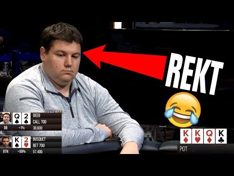 Shaun Deeb Gets DESTROYED By QUADS ($50k Heads Up)
