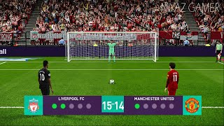 PES 2020 | Liverpool vs Manchester United | Penalty Shootout | Gameplay PC