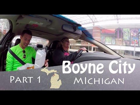 I Took A ROAD TRIP to BOYNE CITY, MI - Part 1/2