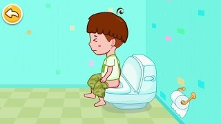 Toilet Training - Baby's Potty iPhone Gameplay