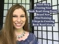 Need Help Creating Your Book Read Along Event? Brand New Mini Training  5 Steps to Creating Book Rea