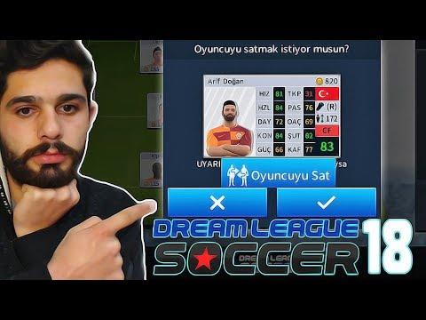 Kendi Oluşturduğumuz Oyuncuyu Satarsak Ne Olur? - Dream League Soccer 2018