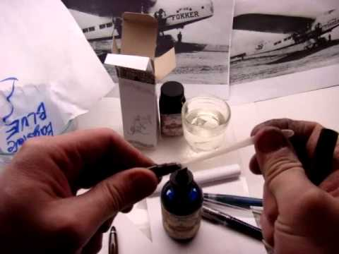 Baystate Blue Ink - multiple demonstrations