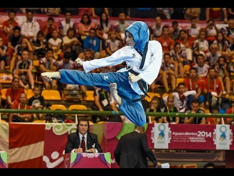 Taekwondo Most beautiful Girl in action || Kubra DAGLI