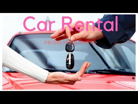 English Podcast - Esl English - Car Rental