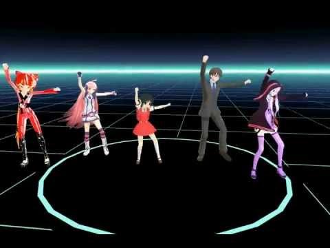 [MMD] AH-Software's Groovy Dancing Vocaloids