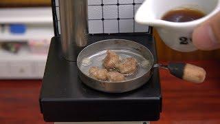Miniature Food  Tsukune 食べれるミニチュア つくね