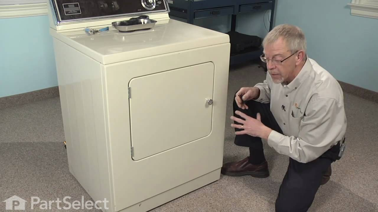 Dryer Repair Replacing The Front Glide Kit Whirlpool Part 306508 Belt Diagram Also Microwave Oven On Ge Youtube
