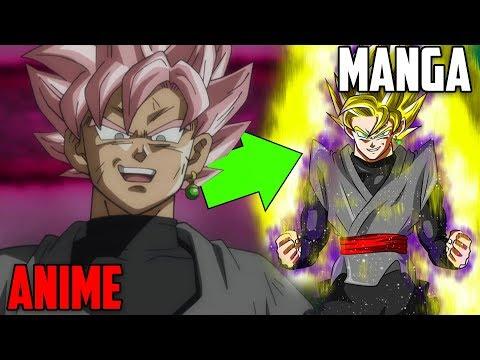 Goku Black ist viel STÄRKER als du denkst! - Dragonball Super Manga/Anime Unterschiede #02