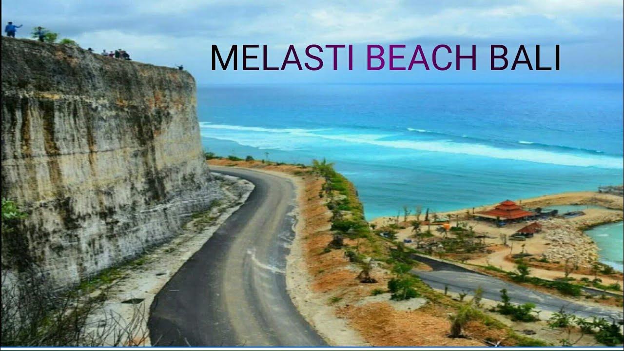 Pantai Melasti Ungasan Tempat Wisata Di Bali Youtube