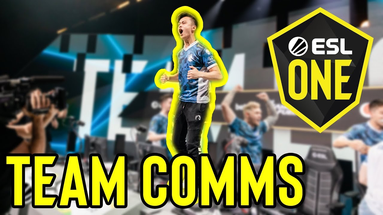 RUSH B! - ESL One Cologne 2019 Grand Final Team Comms Highlights