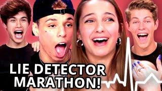 LIE DETECTOR FAIL Compilation - Lexi Rivera, Ben Azelart, Stokes Twins, Larray, & MORE!